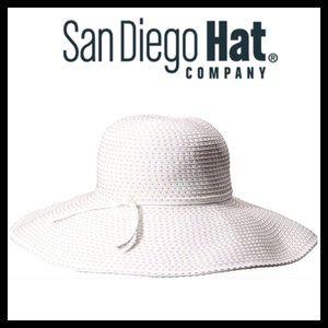 San Diego Hat Company Floppy Hat W/ Tie UPF 50+